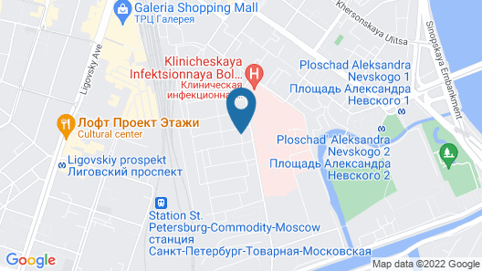 New Horizon Ovechkin Apartments Map