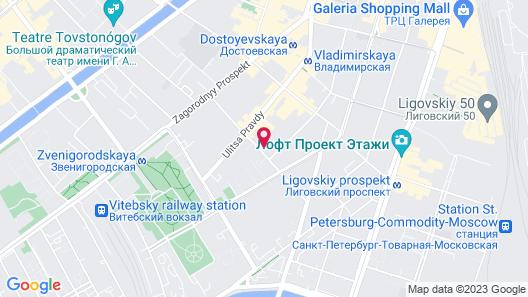 Apart hotel Arka Map