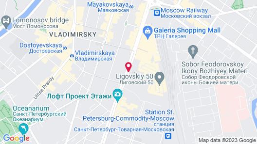 ibis St Petersburg Centre Map
