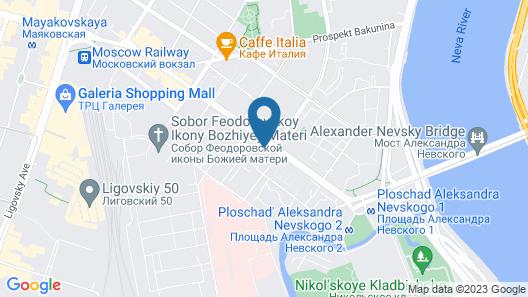 Mini-hotel Old Flat on Nevsky Map