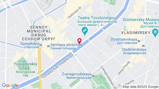 Asteria Hotel Map