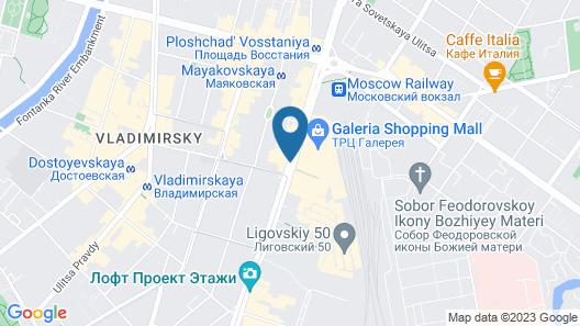 Allegro Ligovsky Prospect Map