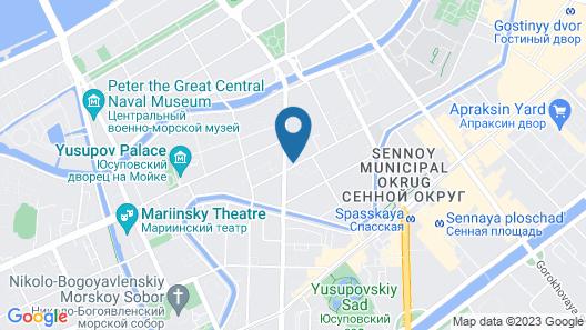 Station Hotels K43 Map