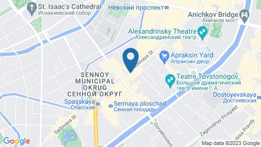 Capsule Hostel de Lux ApraxInn Map