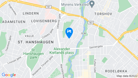 StayPlus Comfy 1BR Apt - Hip Area Map