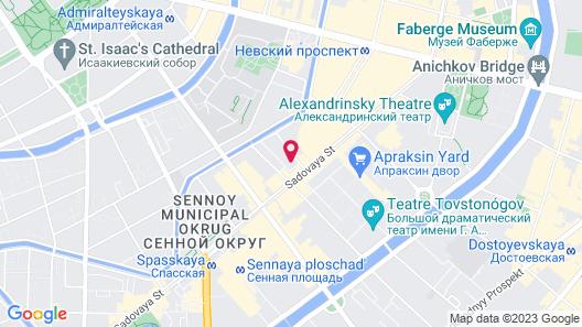 Friends on Bankovsky Map