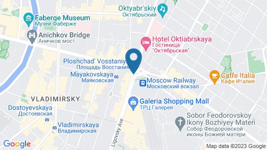Best Western Plus Centre Hotel Map