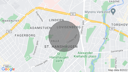 Key Ready Apart @ St. Hanshaugen Map