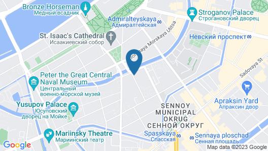 Lotte Hotel St.Petersburg Map