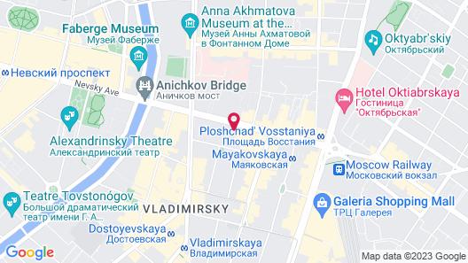 Kaleidoscope on Nevskiy Map