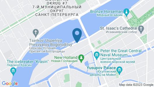 Happy Pushkin Map