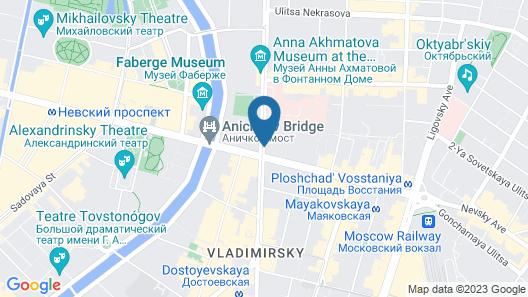 NEO on Nevsky Map