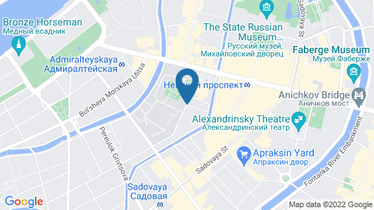Art-Hotel Rachmaninov Map