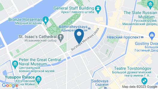 Casa Leto Map