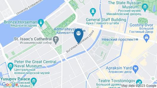 Comfort Hotel Map
