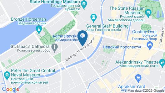 Meeting Time Capsule Hostel Map