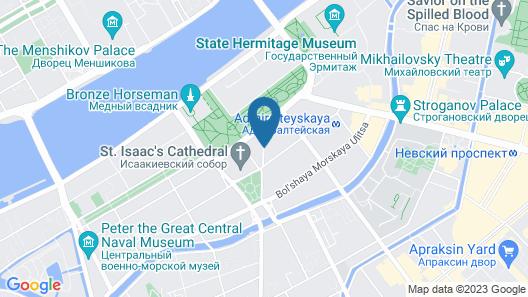 SO Sofitel St Petersburg Map