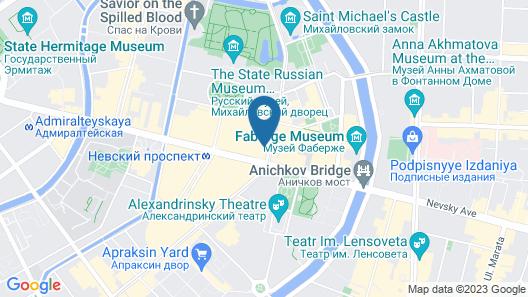 Sapphire Hotel Map