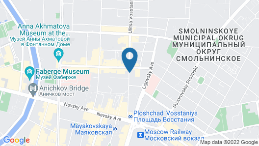 AKYAN St.Petersburg Map