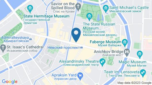 Catherine Art Hotel Map