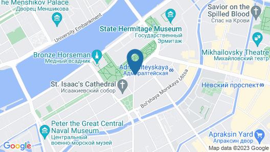 Four Seasons Hotel Lion Palace St. Petersburg Map