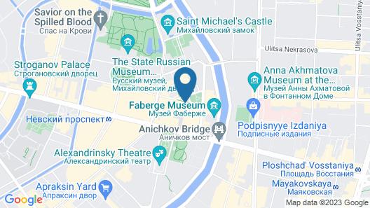 Italyanskaya 29 Map