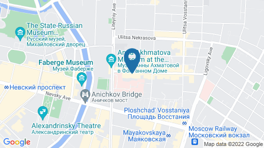 Alex Hotel on Zhukovskogo Map