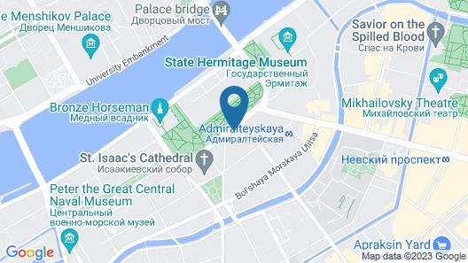 Petr Hotel Map