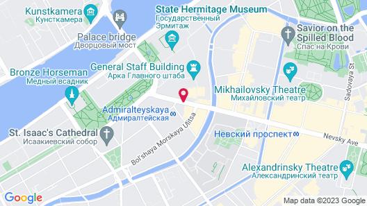 Sonata on Nevsky 11 Map