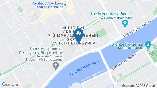 Solo Sokos Hotel Vasilievsky Map
