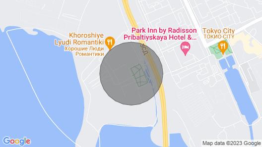 Apartment at Aleksandra Greena Boulevard Map