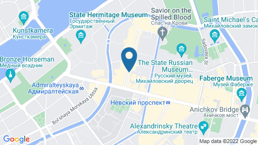 Nevsky Grand Apartments Map