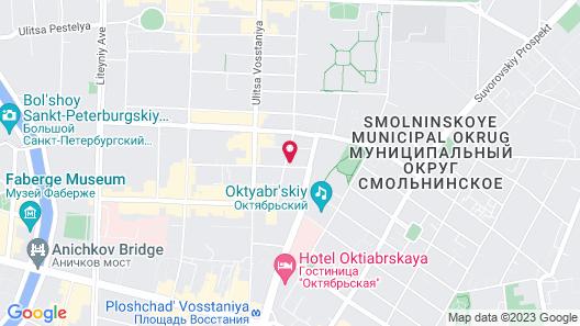 Mini-Hotel Kovensky Map