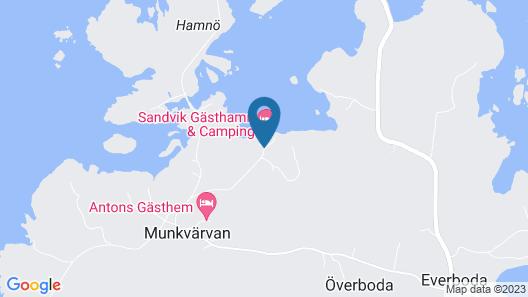 Sandvik gästhamn och camping Map