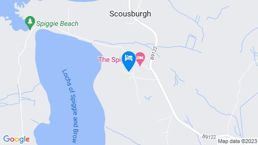 The Spiggie Hotel Map
