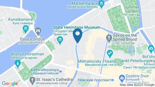 Kempinski Hotel Moika 22 Map