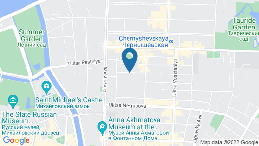 Russ Hotel Map