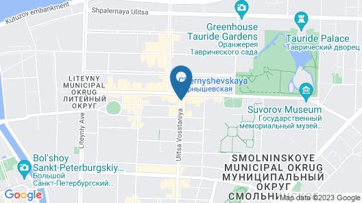 Demetra Art Hotel Map