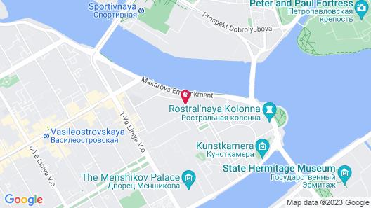 Solo Sokos Hotel Palace Bridge Map