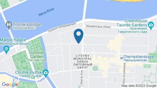 Hotel Indigo St. Petersburg - Tchaikovskogo Map