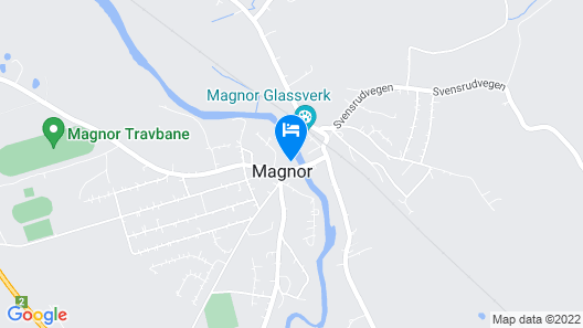 Hotell Magnor Bad Map