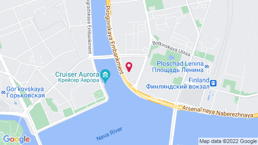 Hotel Saint Petersburg Map