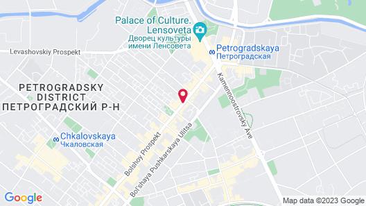 Rinaldi at Petrogradskaya Map
