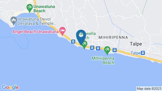 Sayura Beach Hotel Map