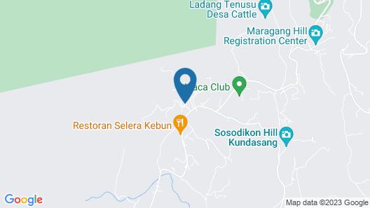 SPOT ON 89963 Sinurambi Homestay 2 Map
