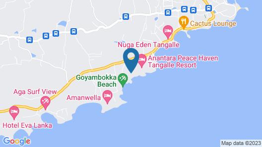 Anantara Peace Haven Tangalle Resort Map