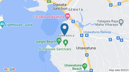 Agnus Unawatuna Map