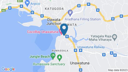 COCOBAY UNAWATUNA Map