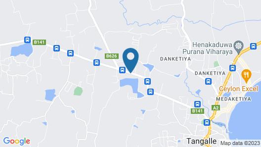 Mahawewa Nature Resort and SPA Map