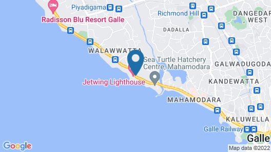 Jetwing Lighthouse Map